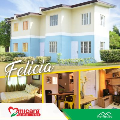 Invest in a felicia townhouse at Micara Estates