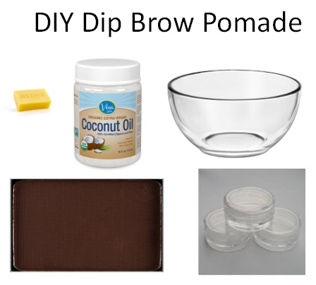 DIY Dipbrow Pomade