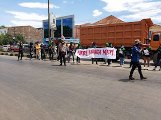 Polres Pangkep amankan Aksi simpatik IPPM Pangkep dalam  rangka Hari Kesaktian Pancasila