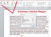 Menghitung Jumlah Kata dengan Menggunakan Microsoft Word