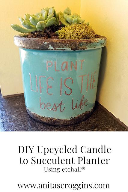 DIY Upcycle Planter