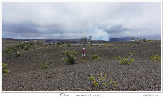 Kilauea: ... and those who do not...