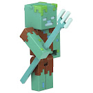 Minecraft Drowned Craft-a-Block Playsets Figure