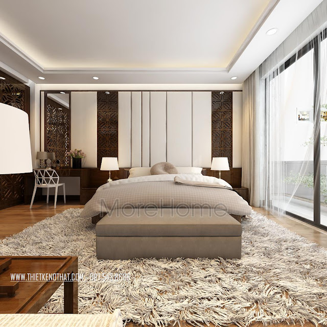 Tìm hiểu cách thiết kế trang trí phòng ngủ nhà phố đẹp 3