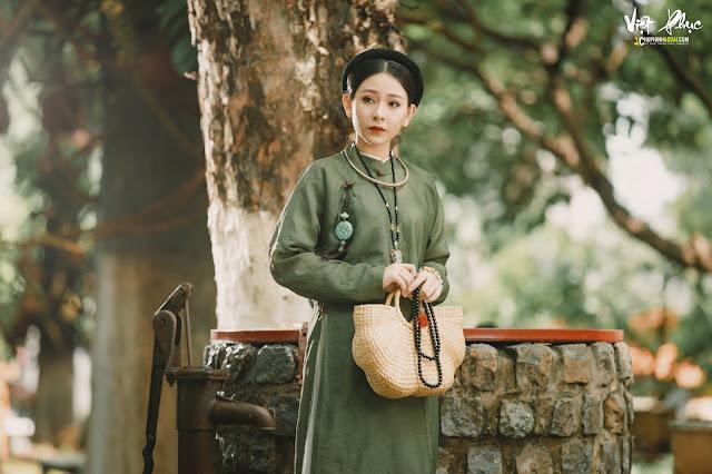 Chụp ảnh cổ phục Áo Ngũ Thân tại TP Hồ Chí Minh