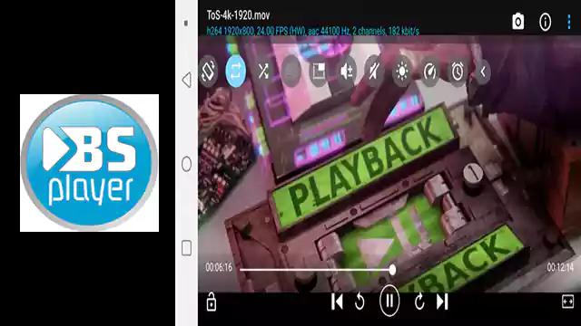 تحميل تطبيق اندرويد BSPlayer مشغل الفيديو