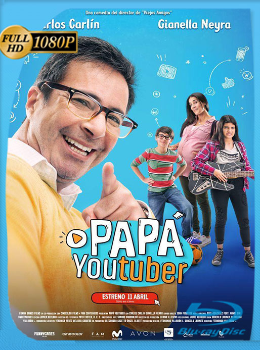 PAPÁ YOUTUBER (2019) HD 1080P LATINO [GoogleDrive][GLMA]