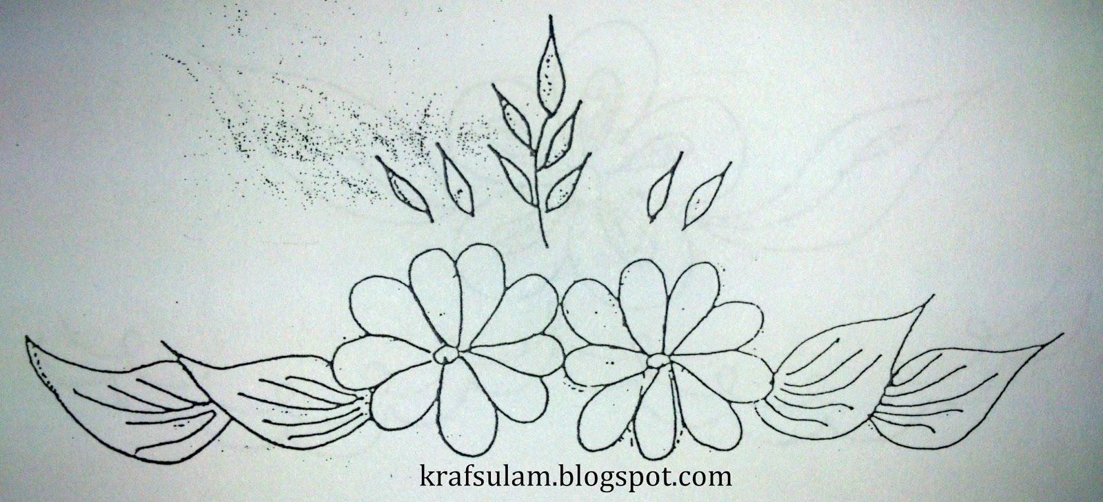 Contoh Gambar Bunga Untuk Sulaman Next Contoh