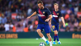Barcelona out cast Arthur Melo has been caught drunk driving with minor road accident