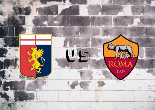 Genoa vs Roma  Resumen