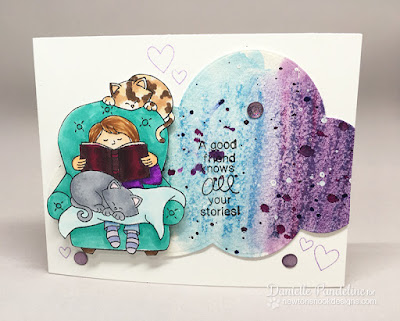 A Cozy Day |  Newtons Nook Designs | Card created by Danielle Pandeline