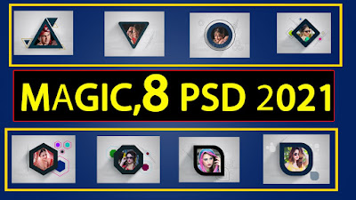 Magic New Latest PSD Template Free Dowload 2020-2021