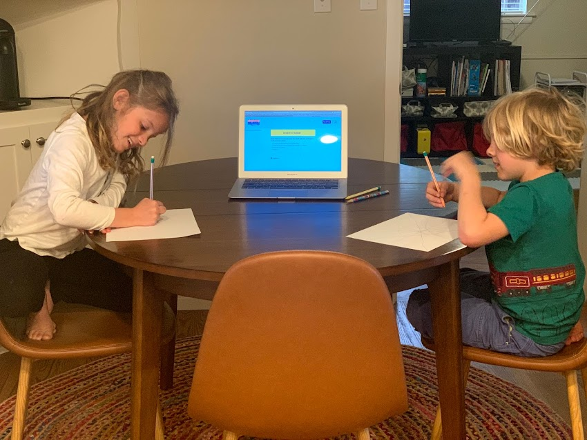 Kids at Home: Our New Normal