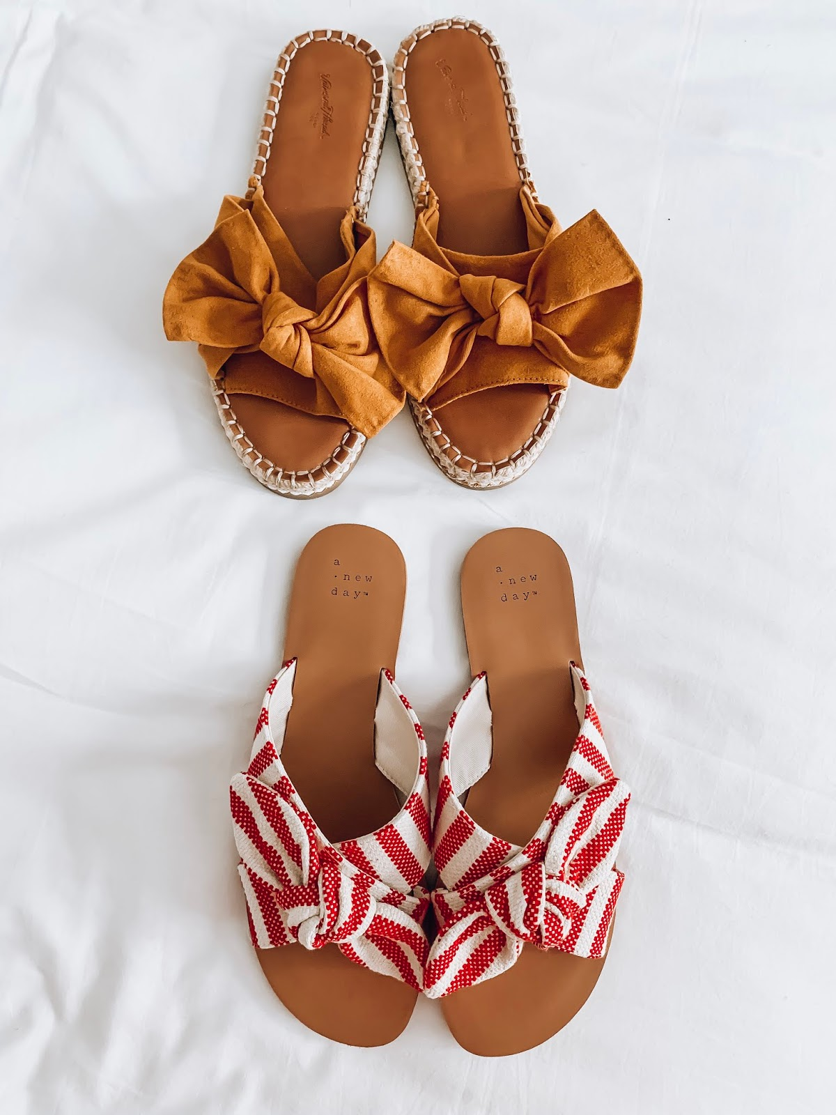 Recent Target Finds for Summer, Bow Sandals - Something Delightful Blog