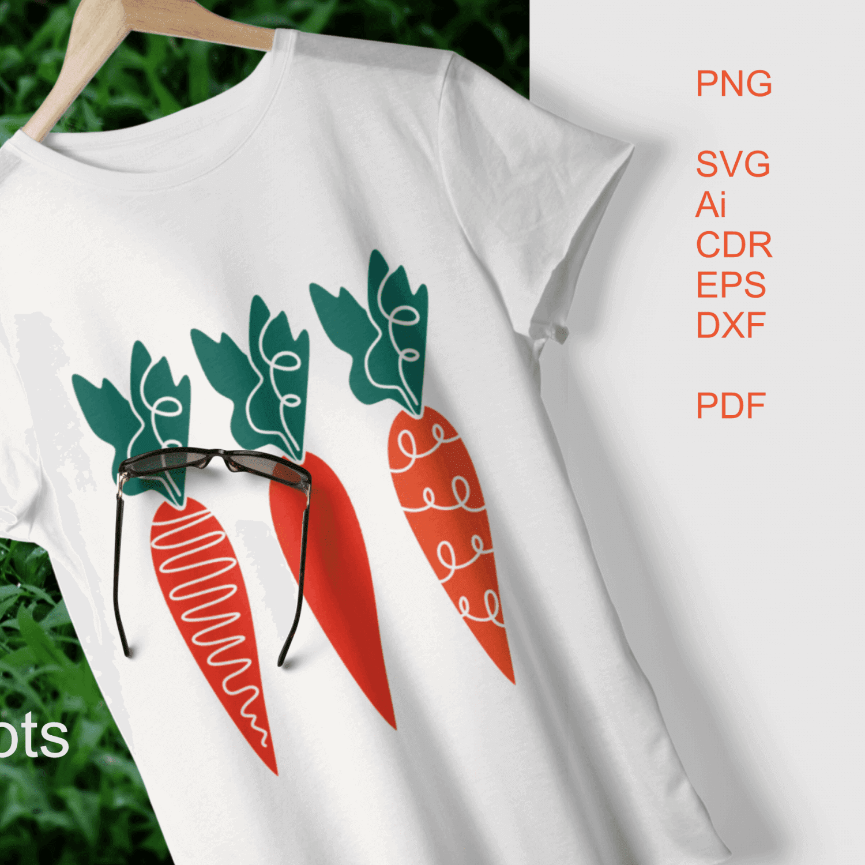 SVG carrots