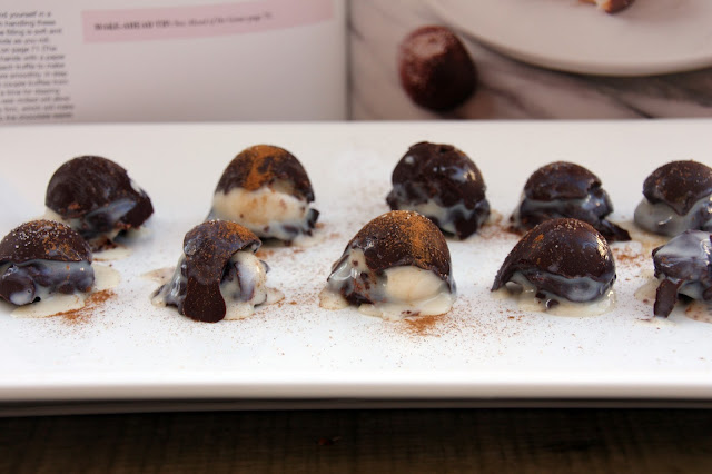 Chai tea truffles