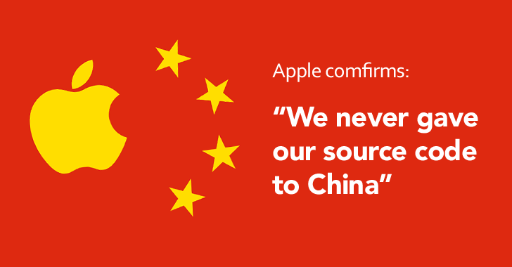 China wants Apple's Source Code, but the Company Refused