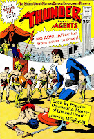 Thunder Agents v1 #18 tower silver age 1960s comic book cover art