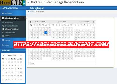 Cara Cepat Input Daftar Hadir GTK Online