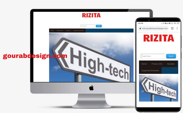 rizita blogger template