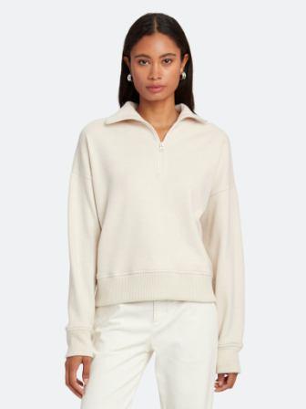 Vince Cozy Half Zip Pullover