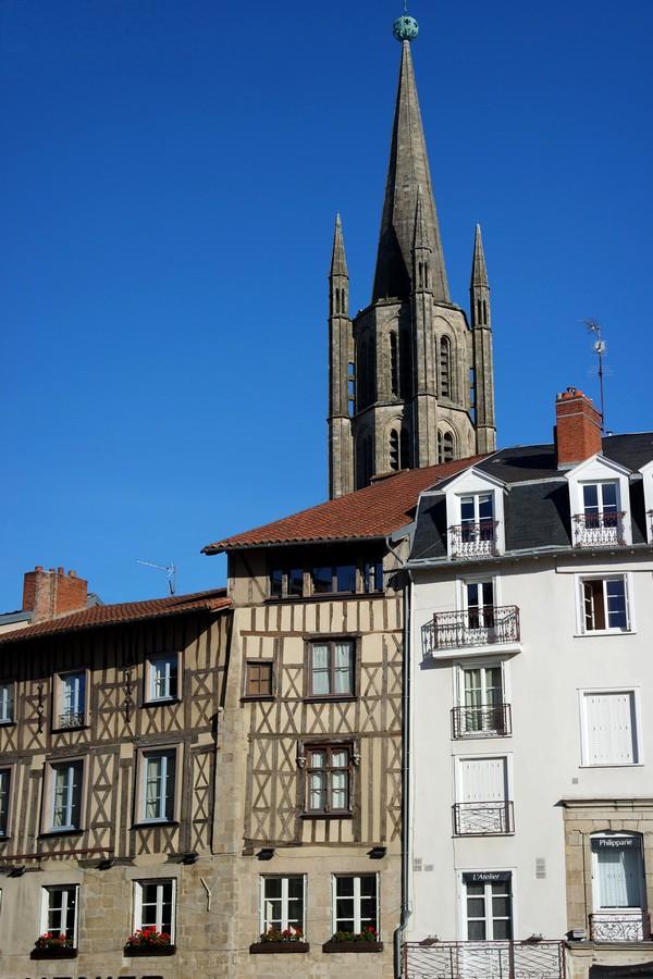limoges place motte colombages église saint-michel des lions