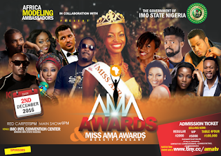 African Modelling Ambassadors; African Stars, Storm Imo for AMA Awards 2016 1