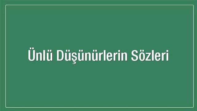 Türk Ünlülerin Sözleri