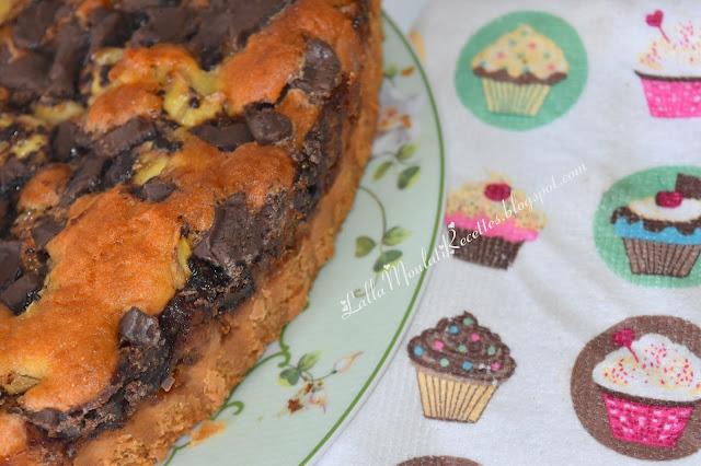 Gâteau au chocolat et banane
