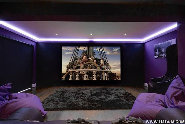 Home Cinema modern untuk rumah pribadi - liataja.com