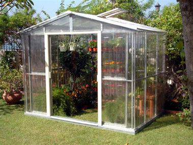Marzua c mo montar y cuidar un invernadero for Construccion de viveros e invernaderos