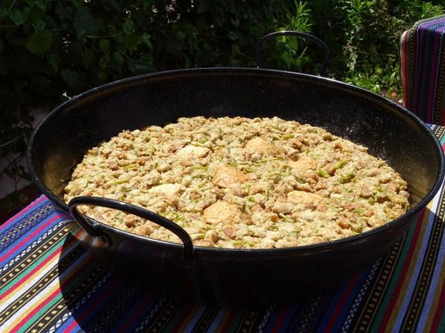 Guisote el gastor cadiz andalucia migas pan ajos trigueros esparragos gastronomía tradicional
