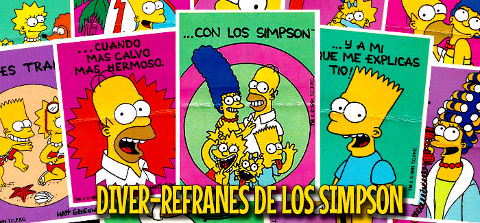 Los Diver-Refranes de Los Simpson (Bollycao, 1991)