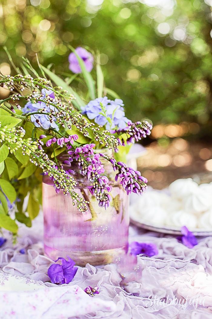 wisteria floral arrangement
