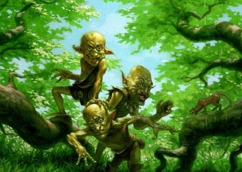 Duendes del bosque