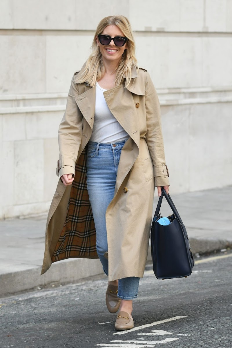 Mollie King clicked Outside in London 12 Jul -2020