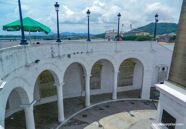 Plaza Francia, no Casco Viejo da Cidade do Panamá