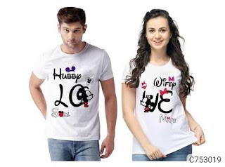 Couple teshrt combo of 2