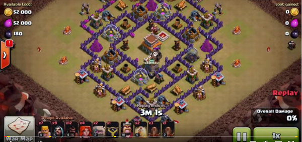 Base Coc Th 8 Untuk War 2