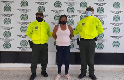 hoyennoticia.com, Capturada mujer por trafico de  drogas en Valledupar