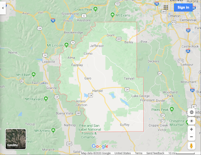 County Lines On Google Maps