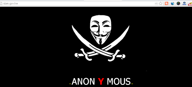 Kuwaiti Ministry of Awqaf and Islamic Affairs Defaced by Anonymous Hacker