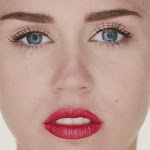 Miley Cyrus - Wrecking Ball - Music Video Cover