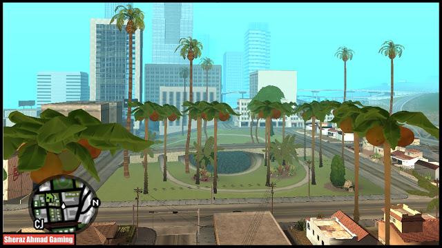 GTA San Andreas Fortnite Vegetation Mod