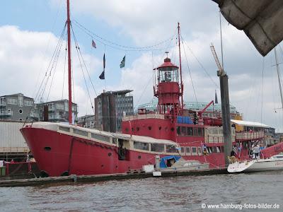 Hafenrundfahrt Hamburg Feuerschiff