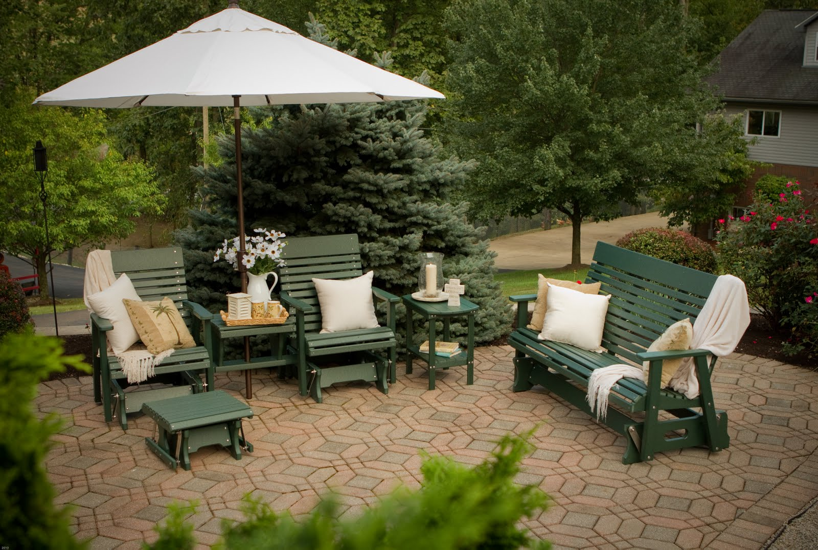 The recycle story from plastic milk jugs to beautiful outdoor furniture