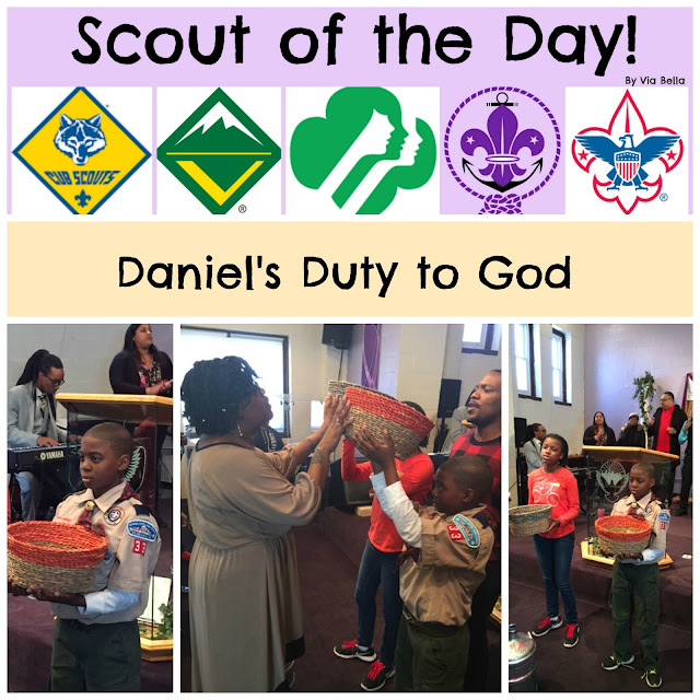 scout spotlight of the day, scout, boy scouts, cub scouts, duty to God, Webelos