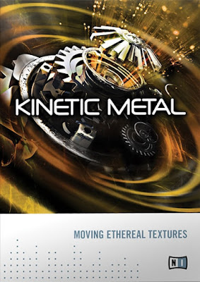 Cover da Kontakt Library Native Instruments - Kinetic Metal