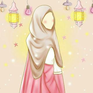 kartun hijab unik