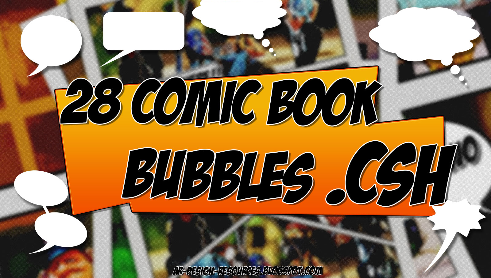 ADR 28 Comic Book Bubbles Thumbnail